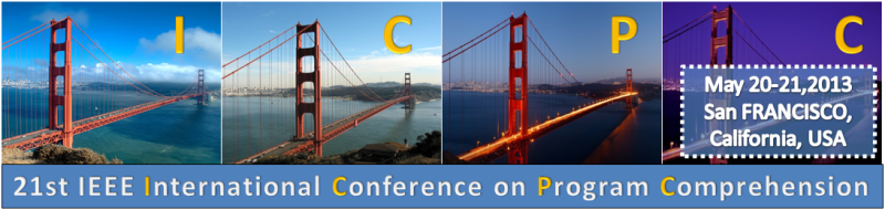 ICPC '13 - May 20–21, 2013, San Francisco, CA, USA