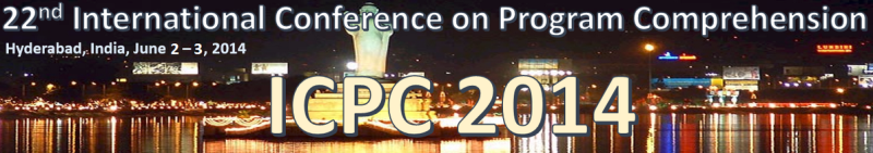 ICPC'14 - June 2–3, 2014, Hyderabad, India
