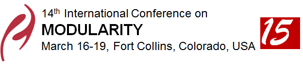MODULARITY'15 - March 16–19, 2015, Fort Collins, CO, USA